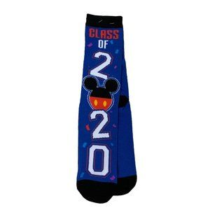 DISNEY PARKS Class of 2020 High Socks OS NEW